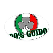 guid Oval Car Magnet