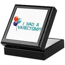 I Had A Vasectomy Keepsake Box