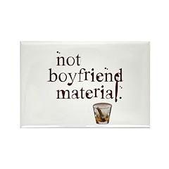 Not boyfriend... Rectangle Magnet (10 pack)