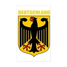 German Coat of Arms (finished) Decal