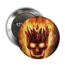 "skull bonies head explodes big 2.25"" Button"
