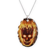 skull bonies head explodes big Necklace