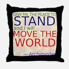 Archimedes1 Throw Pillow