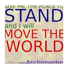 Archimedes1 Tile Coaster