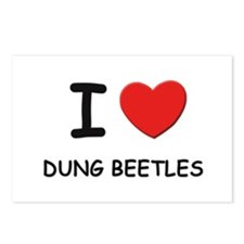 I love dung beetles Postcards (Package of 8)
