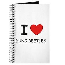 I love dung beetles Journal