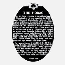 Hodag Historical Marker Oval Ornament