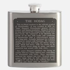 Hodag Historical Marker Flask