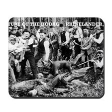 Capture of the Hodag Mousepad