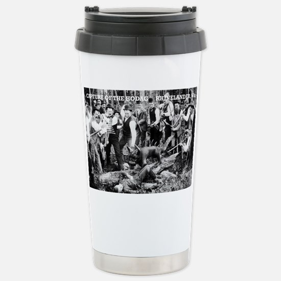 Capture of the Hodag Stainless Steel Travel Mug