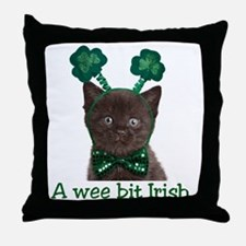 shamrock_t Throw Pillow