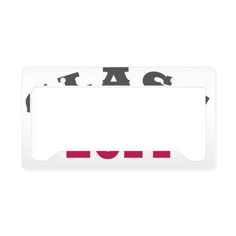 Class Of 2014 Red 1 License Plate Holder