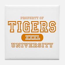 Tigers University Tile Coaster