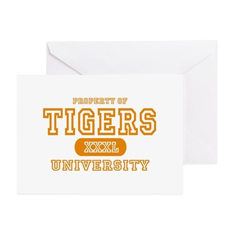 Tigers University Greeting Cards (Pk of 10)
