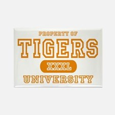 Tigers University Rectangle Magnet