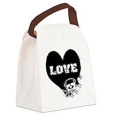 love_skull_panties Canvas Lunch Bag