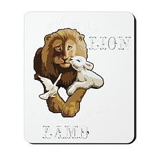 LionLambB Mousepad