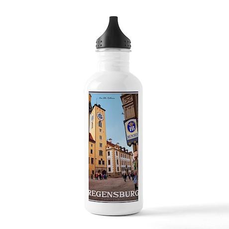 Regensburg - Altes Rat Stainless Water Bottle 1.0L
