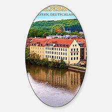 Regensburg - An Der Donau Sticker (Oval)