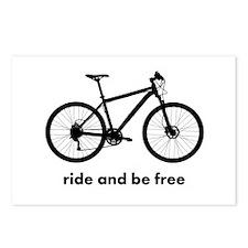 Custom Bicycle Postcards (Package of 8)