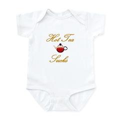 Hot Tea Sucks Infant Bodysuit
