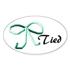 Tubes Tied Oval Decal
