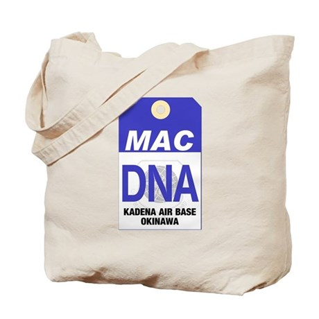Kadena MAC Tag Tote Bag