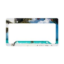 Aruba6 License Plate Holder