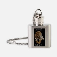 StLambPillow Flask Necklace