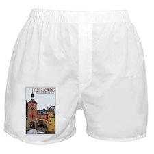 Regensburg Steinerne Brucke Boxer Shorts