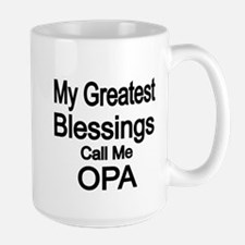 My Greatest Blessings call me OPA Mugs