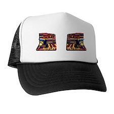 5-fabric or vinyl smple bolts designer Trucker Hat
