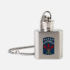 SSI - 593rd Sustainment Brigade Flask Necklace