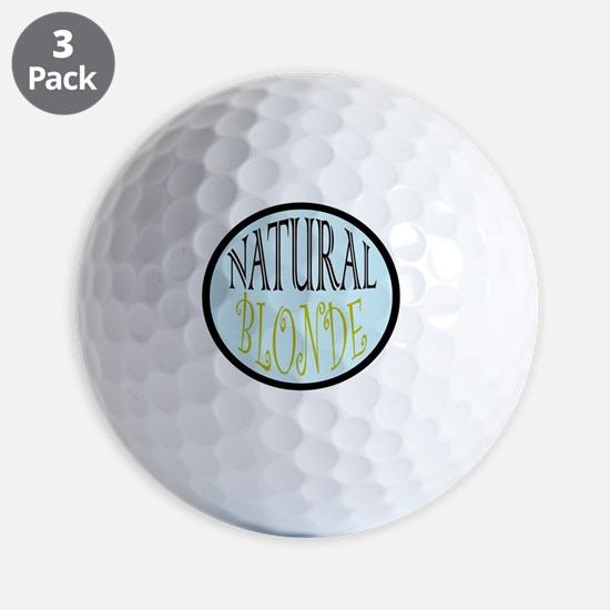 natBLONDE Golf Ball