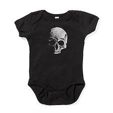 Bone Skull Baby Bodysuit