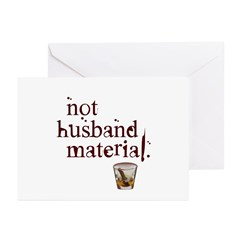 Not husband... Greeting Cards (Pk of 10)