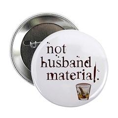 """Not husband... 2.25"""" Button (10 pack)"""