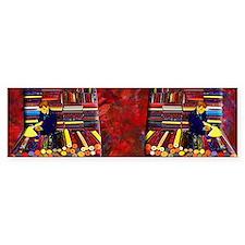 4-fabric or vinyl smple bolts des Bumper Sticker