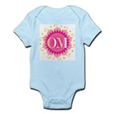 Lotus OM Pink - Infant Bodysuit