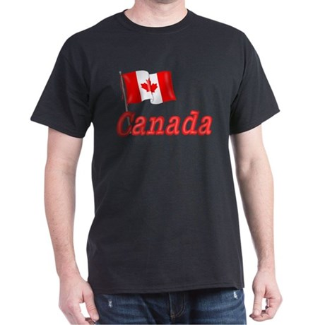Canada & Canadian Flag Dark T-Shirt