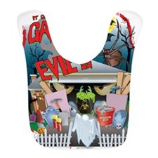 2-Garage of Evil Gary Shirt Bib
