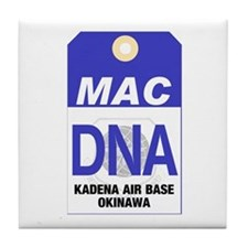 Kadena MAC Tag Tile Coaster