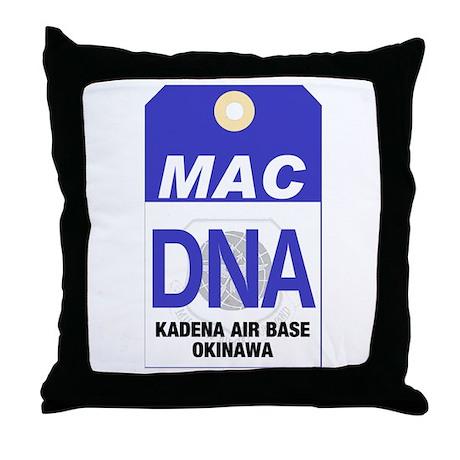 Kadena Decorative Pillow : Kadena MAC Tag Throw Pillow by mdg_store