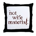 Not wife... Throw Pillow