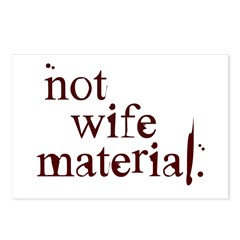Not wife... Postcards (Package of 8)
