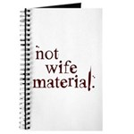 Not wife... Journal