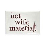 Not wife... Rectangle Magnet (10 pack)