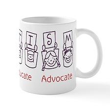 14 autism purple Mug