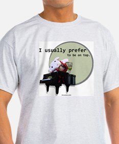 021210 Prefer the top T-Shirt