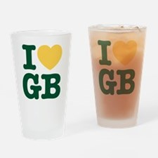 iheartgb2 Drinking Glass